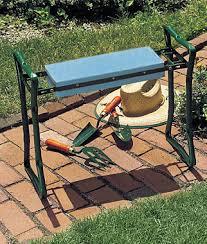 Garden Kneeler Bench Kneeler Seat Gardening Supplies And Garden Tools At Burpee Com