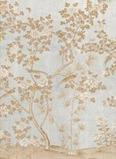 affordable hand painted chinoiserie wallpaper panels from oriental