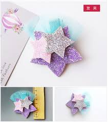 felt hair accessories online shop 20 pcs lot glitter unicorn hair felt glitter