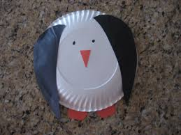paper plate penguin craft kiddie crafts 365 blog