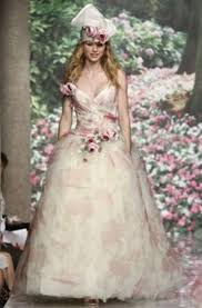 Whimsical Wedding Dress Gorgeous Whimsical Wedding Dress With Muted Sage And Pink Floral