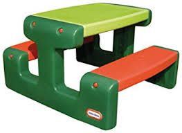 little tikes bench table little tikes junior picnic table evergreen little tikes amazon