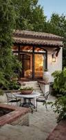 Spanish Houses Rustic Mediterranean Style Tuscan Courtyard Outdoor Decor Pinterest Spanish House And