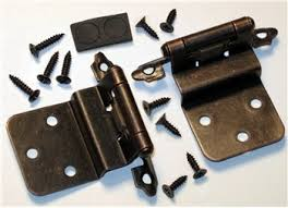 Partial Inset Cabinet Door Hinges by Semi Concealed Cabinet Hinge Self Closing 3 8 Inch Inset Oil