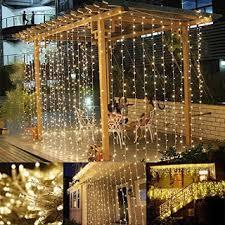 Halloween Window Lights Decorations - le led window curtain icicle lights for christmas halloween