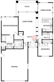 Hawaii Floor Plans Mariposa Floorplan 1198 Sq Ft Sun City Oro Valley 55places Com