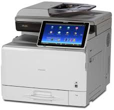 ricoh aficio mp c407 color printer copyfaxes