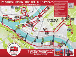 Chicago Attraction Map by The Pittsburgh Tour Company