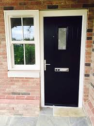 Black Upvc Patio Doors White Upvc Conservatory With Leaded Top Opening Windows Double