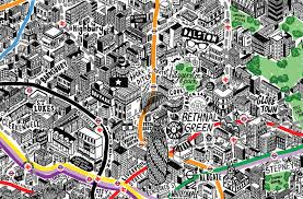 Map Of Lyon France by This Is The Most Beautiful Map Of Paris You Will Ever See