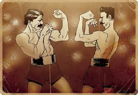 Old Boxer Meme - bare knuckle boxing and why it should come back ktfo