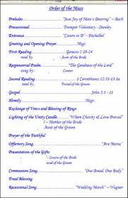 program for catholic wedding mass catholic wedding program wallpapers 789 wedding