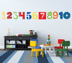number wall decals numbers wall decoration abc 123 decals zoom