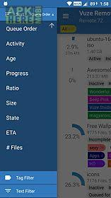 vuze for android vuze remote for android free at apk here store apkhere mobi