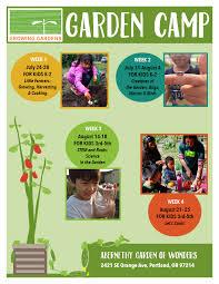 Club Summer Garden - april newsletter