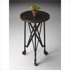 Iron Accent Table Butler Iron On Iron Casters Accent Table 1168025 Butler Specialty