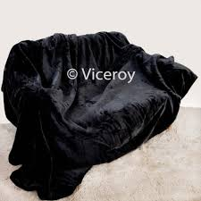 Faux Fur Bed Throw Extra Large 200cm X 240cm Soft Faux Fur Mink Bed Throw Ebay