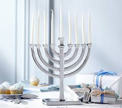 menorah candle holder hanukkah menorah candles pottery barn kids