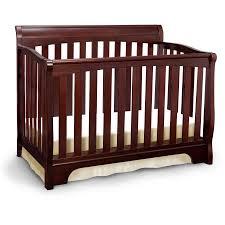 Delta Convertible Crib Recall Delta Children Eclipse 4 In 1 Convertible Crib Cherry Walmart