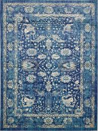 8 X 13 Area Rug Traditional Navy Blue 10 X 13 Stockholm Rug Area Rugs Esalerugs Of