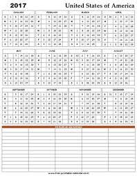 2017 us calendar printable printable 2017 usa holiday calendar free printable calendar com