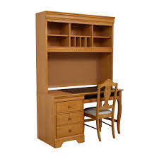 Home Computer Desk With Hutch by 40 Off Stanley Furniture Stanley Furniture Custom Oak Wood Desk