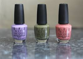 i wish i could wink 3 new opi nail polishes