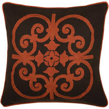 Loloi Pillows Dhurrie Style Pillow Rust Colored Sofa Throw Pillows Including Surya Rizzy Rugs