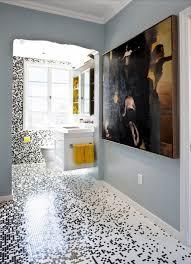 Creative Bathroom Ideas Bathroom Mesmerizing Creation Of Recycled Glass Tiles For