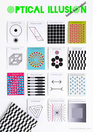 printable optical illusions optical illusion lunch box notes mr printables