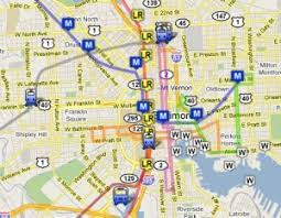 baltimore light rail map the ultimate baltimore transportation map welcome to baltimore hon