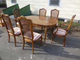thomasville dining room sets double estate auction finally