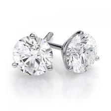 amazon com 4 75 carats earrings awesome 1 carat diamond earrings 14k white gold 1 1 2ct