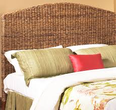 seagrass queen size headboard wicker paradise
