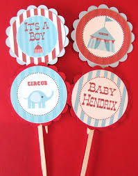 carnival ship themes circus carnival theme cupcake or cake toppers elijah pinterest