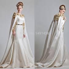 abaya wedding dress 2014 preview golden flowers floor length formal saudi arabia