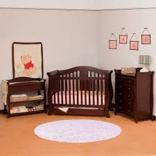 Cherry Convertible Crib Cherry Wood Crib Sets Harian Metro