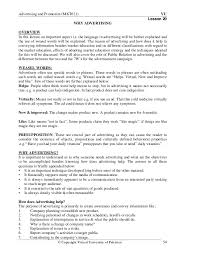 On The Job Training Resume by Advertising U0026 Promotion