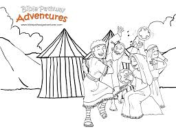 yom kippur coloring pages free bible story for kids david and goliath giants