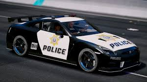 nissan gtr custom nissan gt r nismo police edition add on tuning gta5 mods com