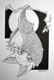 845 best bat artwork images on pinterest animals halloween bats