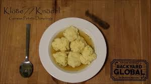 klöße knödel german potato dumplings bg food youtube