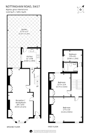 Althorp House Floor Plan by House To Rent In London Nottingham Road Sw17 Wandsworth