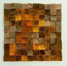 wood wall sculptures wood wall geometric wood industrial decor factory rust