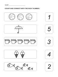 worksheet for numbers count and connect mathematics pinterest
