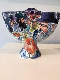 ceramic menorah ceramic menorah by anatoly turov sided mint condition signed