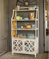 bakers rack with cabinet fantastic kitchen bakers rack cabinets photograph home decoration