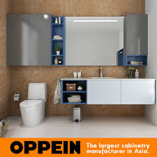 Wall Mounted Bathroom Cabinet Oppein Modern Bathroom Furniture Set Wall Mounted Bathroom