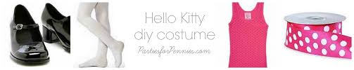 halloween costumes hello kitty diy halloween costumes parties for pennies