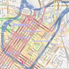 houston map districts houston theater district
